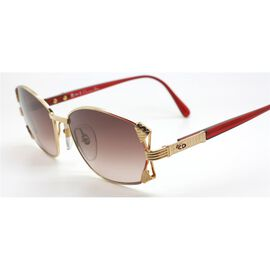 CHRISTIAN DIOR Vintage Style Sunglasses - Red