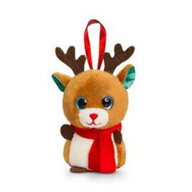 Brown and White Colour Reindeer by Keel Toy (Size 10 Cm)