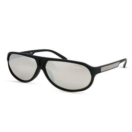 GUESS Blue Aviator Sunglasses with Grey Lenses