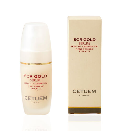 CETUEM  Gold Regenerator Serum 15ml with FREE 15ml SCR Gold Day Serum in liquid format value 60 pound Estimated delivery within 5 to7 working days