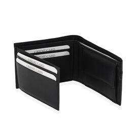 Close Out Deal - Genuine Leather Wallet Black