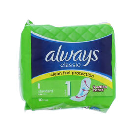 Always: Classic Standard 10s (Pack of 2)