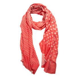 100% Cashmere Wool Red Colour Ultra Soft Scarf (Size 200X70 Cm)