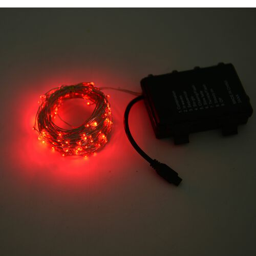 10 Meter Long Micro LED String Light with Wireless Handlheld Remote Control