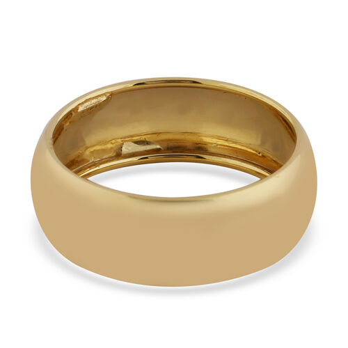 Vicenza Collection- 9K Yellow Gold High Polished Band Ring