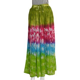 Multi Colour Skirt (Size 100x76 Cm)