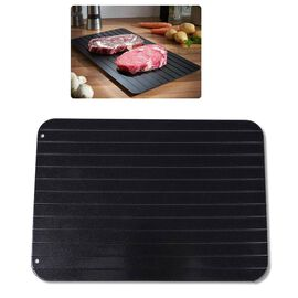 Quick and Safe Non-Stick Defrosting Tray for Meat