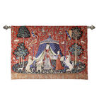 Signare Tapestry - Wall Hanging - Lady and Unicorn A Mon Seul Desir (Size 120x85 Cm)
