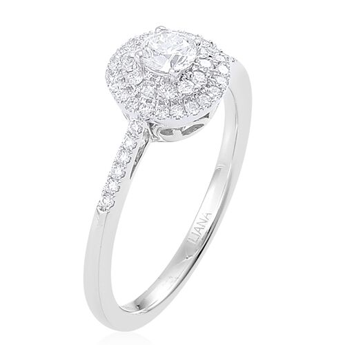Rhapsody platinum ct diamond rnd ring