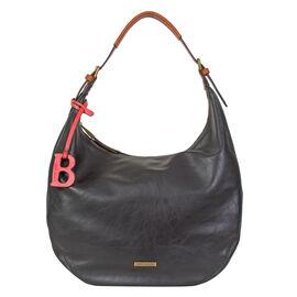 Bulaggi Collection - Bowie Hobo Shoulder Bag (Size 25x40x15 Cm) - Black