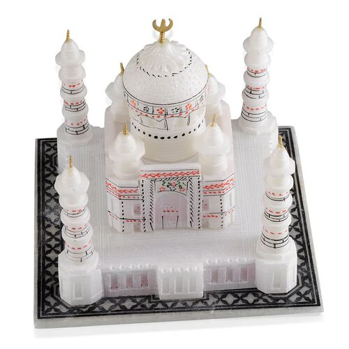 Home Decor - Hand Carved Taj Mahal