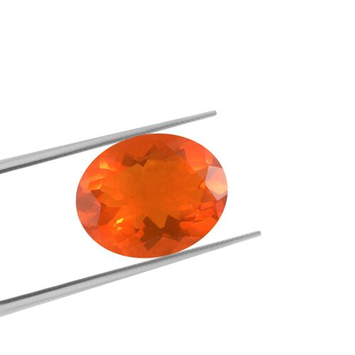 AAA Fire Opal Oval 10x8 Faceted 1.65 Cts