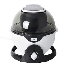 Rolling Fryer with Cooking Accessories (Size: 38X34.5X33.5 Cm) -  Black and White