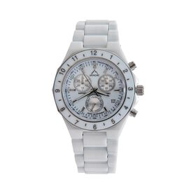 MONCHIC High Tech. Ceramic Chronograph  Swiss Movement Sapphire Crystal, Diamond Dial Gents Watch