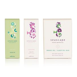 SEASCAPE- Awake Oil & Sleep Oil Duo Gift Set