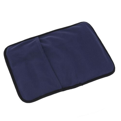 Super Auction - Shungite Mat with Cover (Size 127x10cm) weight - 1.01 lbs - Navy