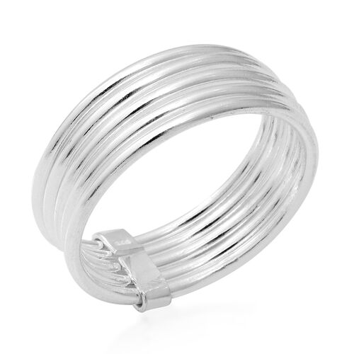 High Finish Band Ring in Sterling Silver 4.60 Grams