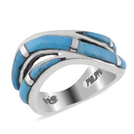 Santa Fe Collection - Turquoise Ring in Sterling Silver 1.700 Ct.