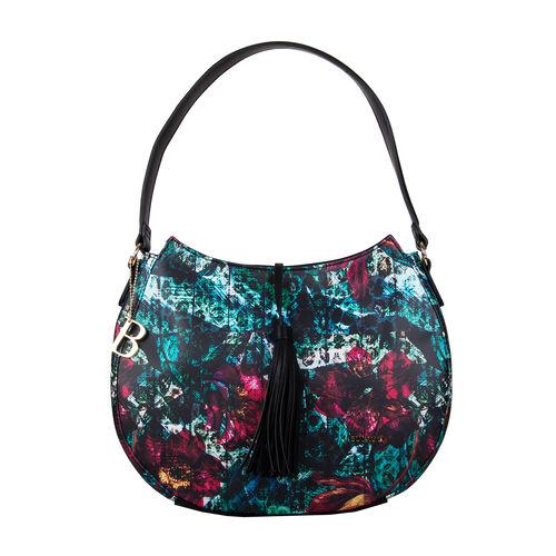 Bulaggi Collection - Orchid Hobo Shoulder Bag (Size 27x35x11cm) - Multi
