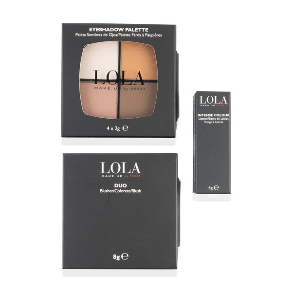 Lola: Nude Look (Incl. Eyeshadow Quad, Blusher Duo & Intense Colour Lipstick)