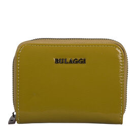 Bulaggi Collection - Acacia Small Wallet with Zipper Closure (Size 12x09x02 cm) - Lime