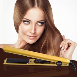 Magestic: Nano Hair Straightener - Silver/Gold