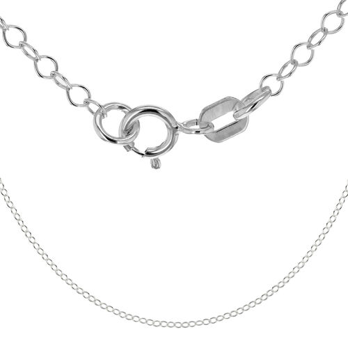 Sterling Silver Rolo Chain (Size 30)
