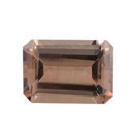 AAA Morganite Octagon 14x10 Faceted 7.01 Cts