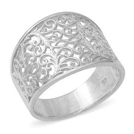 Filigree Ring in Sterling Silver 4.20 Grams