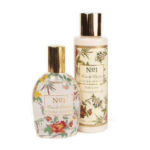 Laura Ashley Number 1 Gift Set- Eau de Parfume 50ml and Body Lotion 150ml