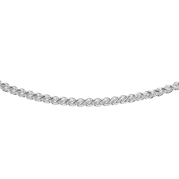 Sterling Silver Spiga Chain (Size 24)