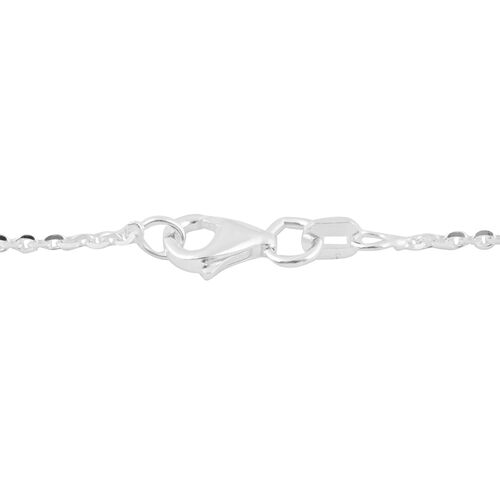 Made in Italy - Sterling Silver Rolo Chain (Size 30)