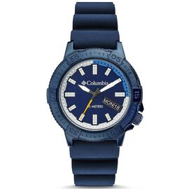 COLUMBIA Peak Patrol Sport Watch with Silicone Strap- Navy