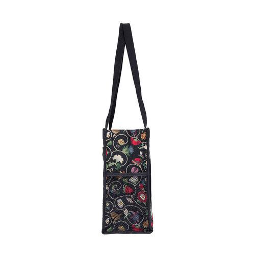 SIGNARE-Tapestry Collection - Jacobean  Multi Compartment Shopper Bag (30x30x13.5cm)