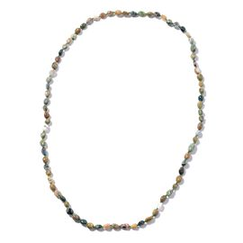 Ocean Agate Beads Necklace (Size 30) 148.50 Ct.