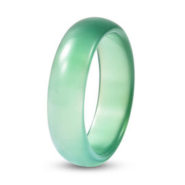 Green Agate Band Ring 9.50 Ct.