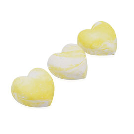 DOD - Hestia Freshener Hearts (6 Pcs) - White and Yellow