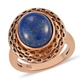 Lapis Lazuli Ring in Bronze 5.00 Ct.