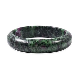 Ruby Zoisite Bangle (Size 7.5) 335.00 Ct.