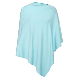 Kris Ana Shoulder Scatter Poncho One Size (8-20) - Mint