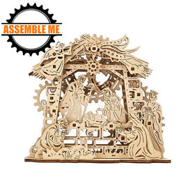 UGears Mechanical Nativity Wooden Model Kit