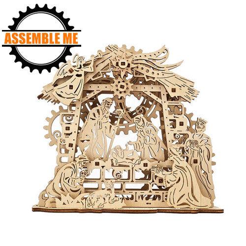 UGears Mechanical Nativity Wooden Model Kit