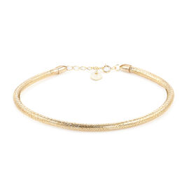 9k Yellow Gold Stretchable Bracelet (Size - 7.5 with 2 inch Extender). Gold Wt 1.60 Gms