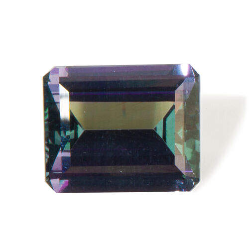 GJEPC Certified 4A Peacock Tanzanite (Octagon 11.78x9.63mm Faceted) 6.18 Cts
