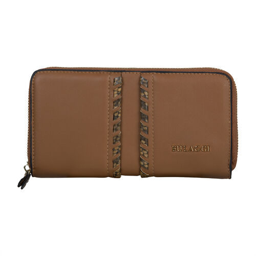 Bulaggi Collection Anemoon Clutch Wallet in Camel (10X19X3cm)