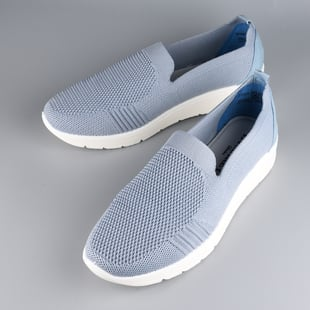 LA MAREY Flexible and Comfortable Women Shoes in Blue (Size 3)