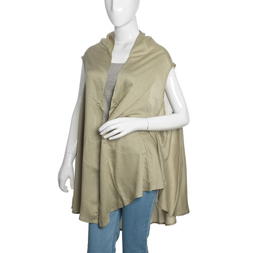Olive Green Colour Round Vest (Free Size)