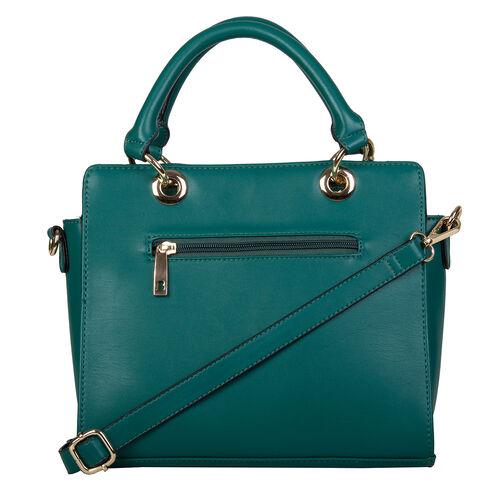 Bulaggi Collection- Calanthe Handbag (Size 27x23x10 Cm) - Green