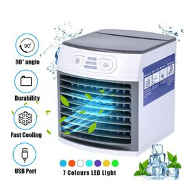 Multifunctional Polar Breeze Portable Air Cooler/Humidifier & Air Purifier with 3 Wind Speed Setting