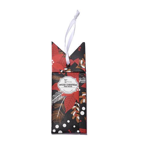 Home Sense - Set of 6 Scented Sachets With Christmas Pine Fragrance